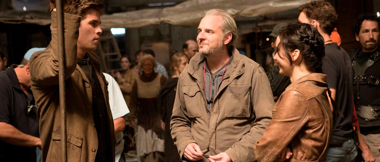 """Francis Lawrence nos sets de """"Jogos Vorazes: Em Chamas"""""""