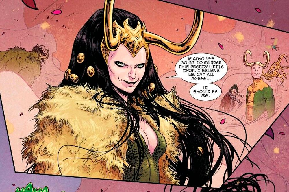 Lady Loki nos quadrinhos da Marvel