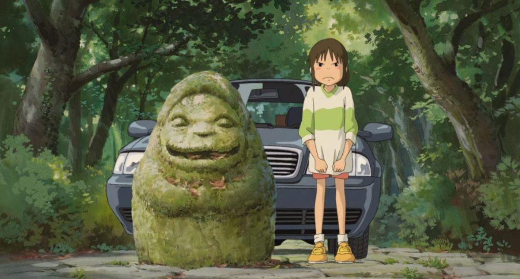 Cena de A Viagem de Chihiro