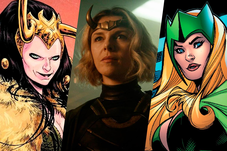 Loki Lady Loky Sylvie Lushton