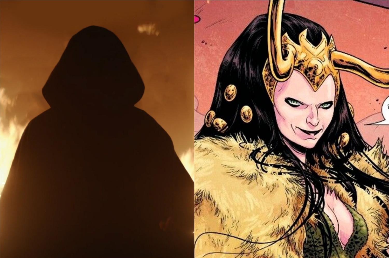 Lady Loki pode ser a Variante responsável pelas mortes dos agentes da AVT (Imagem: Reprodução/Marvel Studios | Marvel Comics)
