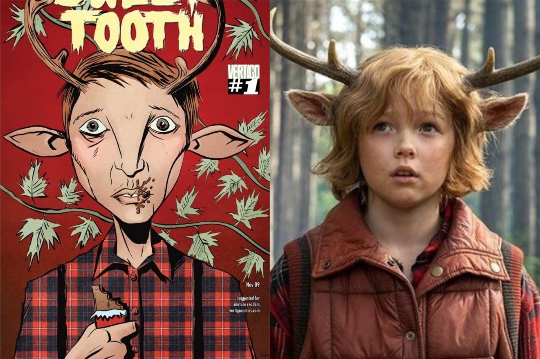 Conheça as diferenças entre a série Sweet Tooth e os quadrinhos (Imagem: Reprodução/Netflix | DC Comics)